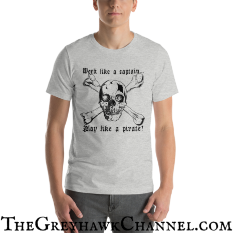 Play Like a Pirate Tshirt